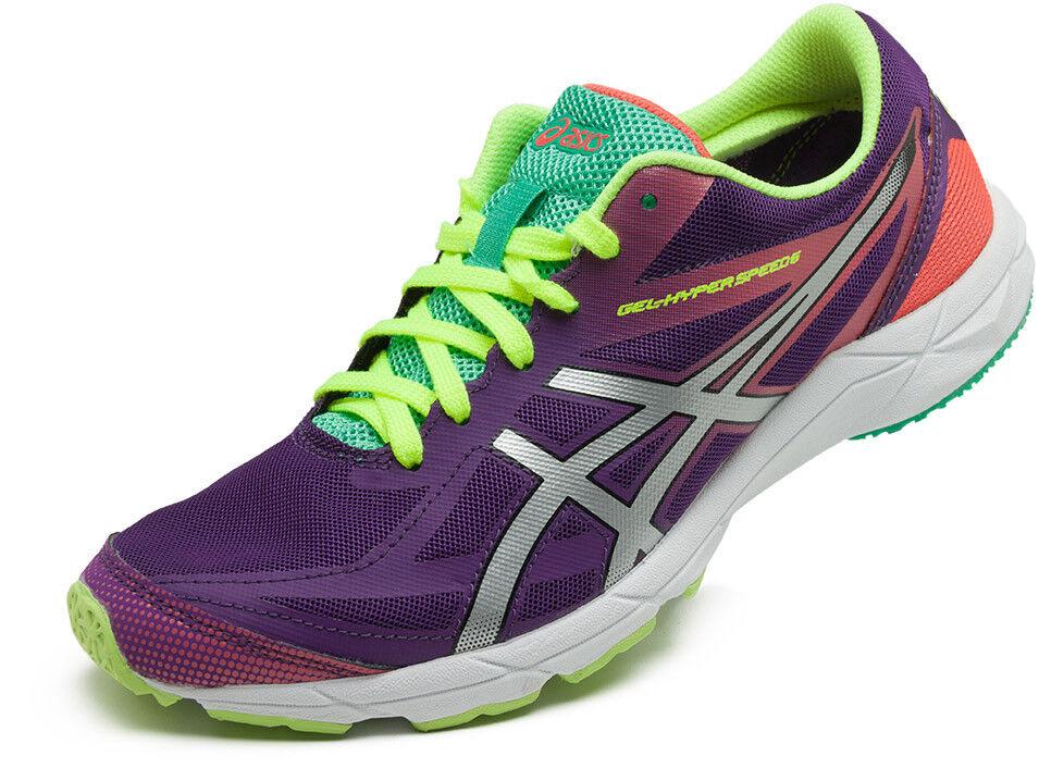 Asics Gel HYPER SPEED 6 chaussures da femmes Running Palestra Yoga baskets violet