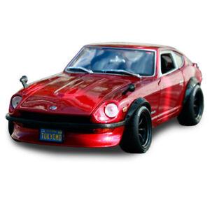 Diseno-de-Maisto-1-18-1971-Datsun-240Z-Red-Diecast-Modelo-Deportes-En-Caja-de-coche-de-carreras