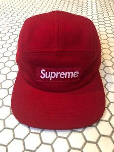 SUPREME 5-Panel Cap - Adjustable Hat | EBay