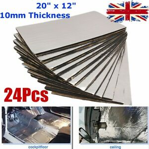 UK-24-Sheets-Closed-Cell-Foam-Sound-Proofing-Deadening-Vehicle-Car-Insulat