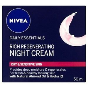 NIVEA-DAILY-ESSENTIALS-REGENERATING-NIGHT-CREAM-50ml-New