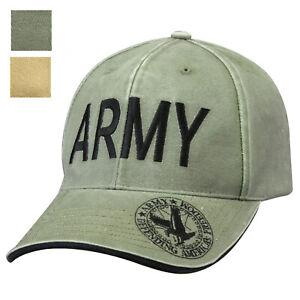Army-Defending-Americas-Freedom-US-Eagle-Baseball-Cap-Adjustable-Hat