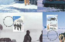 AUSTRALIA AAT FDC 2001 - Set of 4 MAXICARD - ANTARCTIC - Shs KINGSTON Tas.