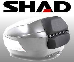 dosseret de coffre coussin top case shad sh48 appui dos moto maxi scooter sh 48 ebay. Black Bedroom Furniture Sets. Home Design Ideas