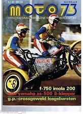 M7608-YAMAHA XS 500 8,POSTER GARY NIXON KAWASAKI,YAMAHA