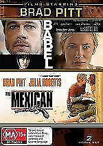 Brad-Pitt-Babel-The-Mexican-DVD-2009-2-Disc-Set