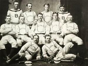 buffalo bisons 1878 baseball team photo 8x10 press photo vintage