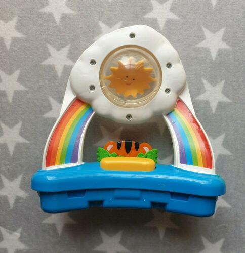 Fisher Price Rainforest Jumperoo Cloud Spin Toy Rainbow Tiger Sun Slot In