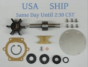 Details about Major Repair Kit for Johnson Raw Sea Water Pump 10-24074 With  Shaft 01-45069