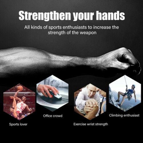 5-60Kg Adjustable Power Hand Grip Forearm Exerciser Gripper Strengthener Trainer