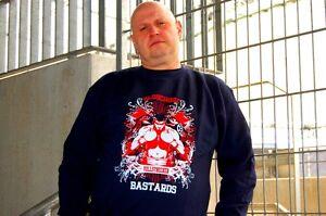 Sweatshirt-Pulli-Oldschool-Bastards-Vollstrecker-fuer-ultras-hooligans-biker