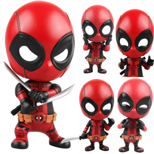 Marvel Avengers Deadpool Spiderman Super Héro Modèle PVC Figurine Articulée