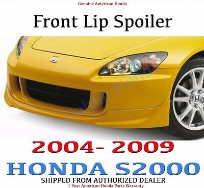 Honda Genuine 08F01-S2A-141 Under Spoiler New Formula Red Front
