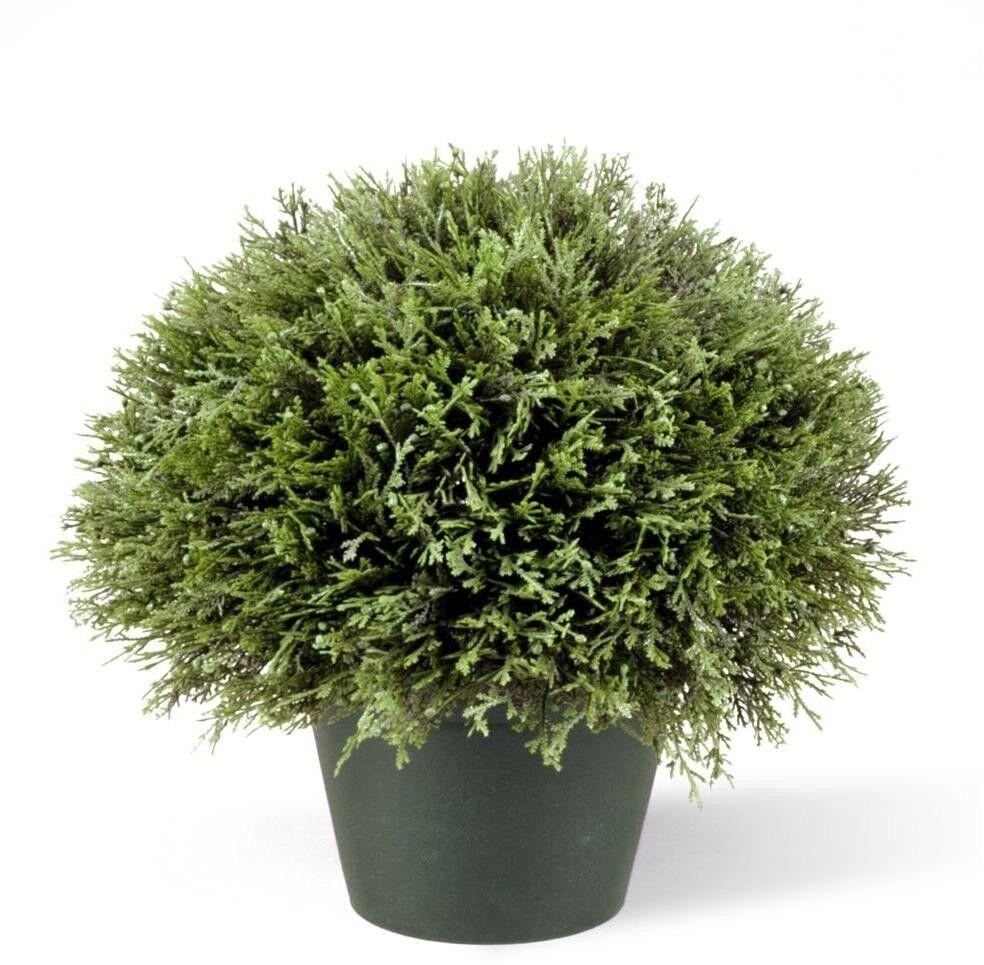National Tree Company Juniper Bush Artificial Fake Plant Decor Grün Grower Pot