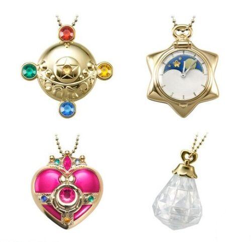 【Sailor Moon】 Miniaturely Tablet CaseVol4 Keychain complete KAWAII BANDAI 4set