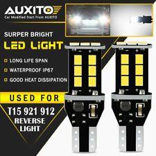 Auxito T15 921 912 Led Reverse Backup Lights For Toyota Camry Corolla Tacoma 15e