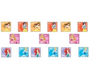 Party Favors 15 Disney Princess Little Mermaid Ariel Glitter Large Stickers