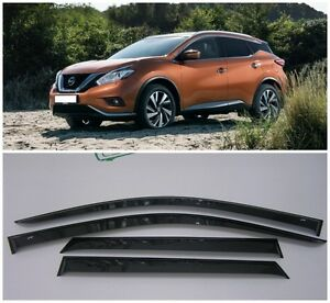 For Nissan Murano (Z52) 2016-2018 Window Visors Sun Rain Guard Vent ... 54ccc643c20