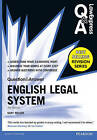 Law Express Question and Answer: English Legal System(Q&A Revision Guide) by Gary Wilson (Paperback, 2015)