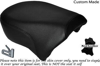 BLACK AUTOMOTIVE VINYL CUSTOM FOR HARLEY SPORTSTER IRON 883 1200 REAR SEAT COVER