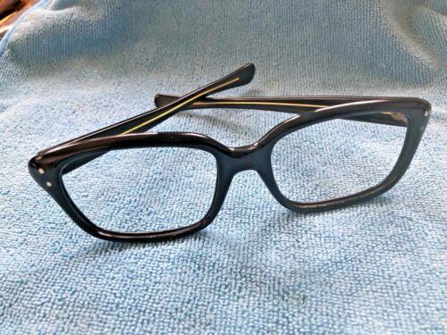 1950's/60's horn rimed  frames no maker maybe Fren