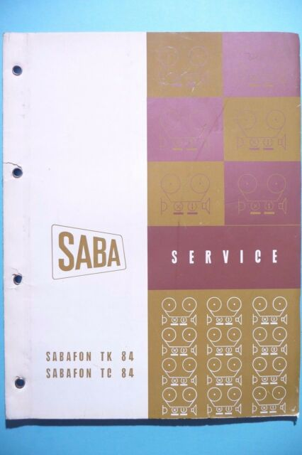Service Manual for Saba Sabafon TK 84 / TC 84, Original