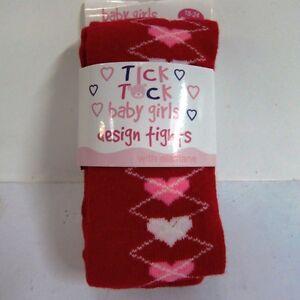 Tick Tock Bambine Cotone Festive Design Collant