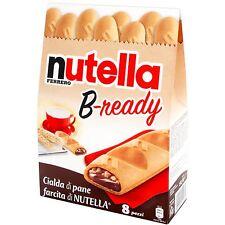 Ferrero NUTELLA B-ready Chocolate snack from ITALY DAMAGED BOX