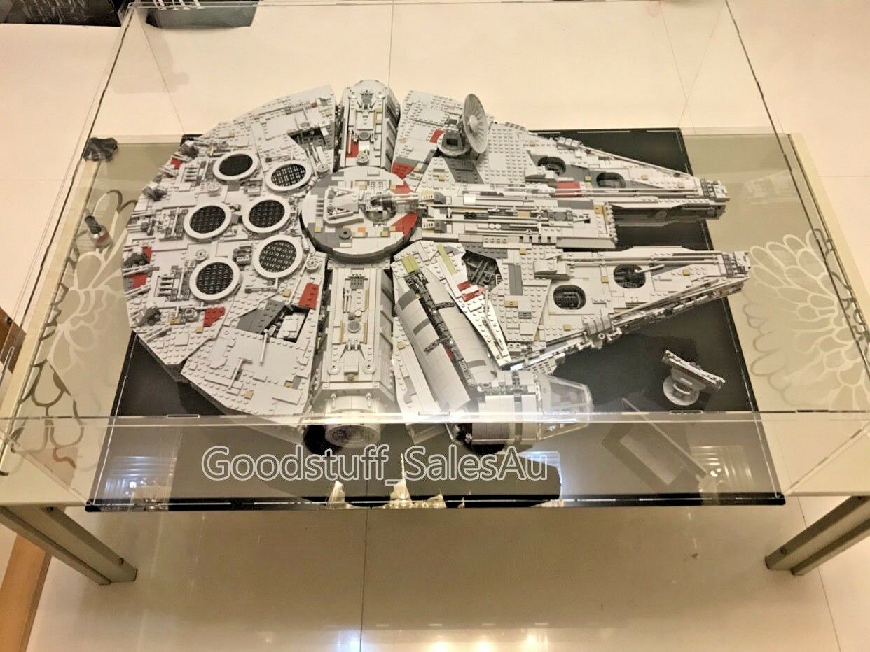 Lego disspela case for Lego stjärnornas krig Millennium Falcon 75192 (Aus Seller)