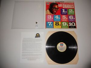 Ray-Charles-Take-10-with-K-194-VG-1966-1st-Press-USA-ULTRASONIC-Clean