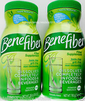 Benefiber Fiber Powder Supplement 100% Natural Easy Dissolve 190 Or 380 Servings