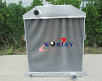 3 Row 42 43 44 45 46 47 1948 Ford/mercury Cars W/chevy Engine Aluminum Radiator
