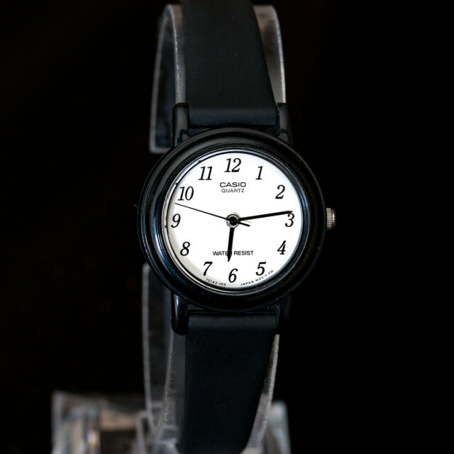 Casio LQ-139B-1B Ladies Analog Watch White Face Resin Band Elegant Classic NEW
