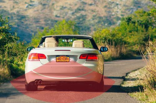Enrock EABC256B License Plate Mount Rear View Backup Color Camera Parking Assist