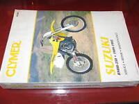 1989 90 91 92 93 1994 1995 Suzuki Rm80 Dirtbike Models Clymer Service Manual_new