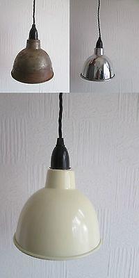 Enamel Pendant Shade Vintage Retro Industrial style Lighting Factory Loft Lamp