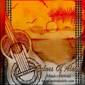 Echoes Of Aloha BLACK  RECTIFIED TYNEX UKULELE STRINGS Baritone 8 String Set