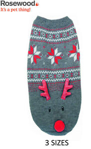 ROSEWOOD-CHRISTMAS-FESTIVE-DOG-PUPPY-LIGHT-UP-JUMPER-XMAS-CLOTHES-3-SIZES