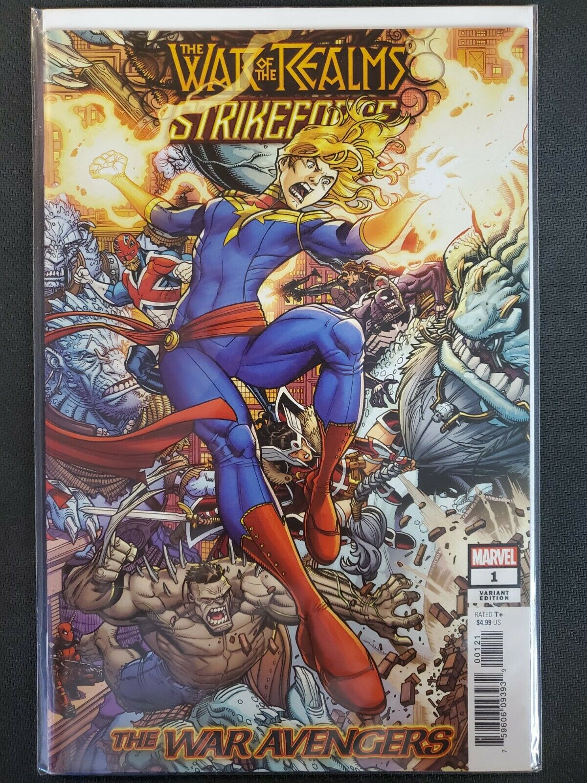 The War Avengers 2019 #1 VF//NM War of the Realms Strikeforce