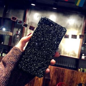 Girl-039-s-Fashion-Luxury-Bling-Sparkle-Glitter-Case-Cover-For-iPhone-5s-6-7-8-Plus