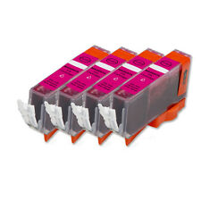 4 PK MAGENTA Ink w/ CHIP for CLI 226 M Canon Pixma MG5220 MG5320 MG6120 MG6220