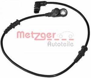 Sensor Raddrehzahl für Bremsanlage Vorderachse METZGER 0900037