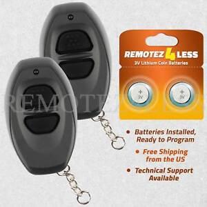 2 For 1998 1999 Toyota 4Runner Keyless Entry Remote Car Key Fob Grey
