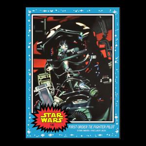 Star Wars Living Set - 2020 Topps Card #140 FIRST ORDER TIE FIGHTER PILOT