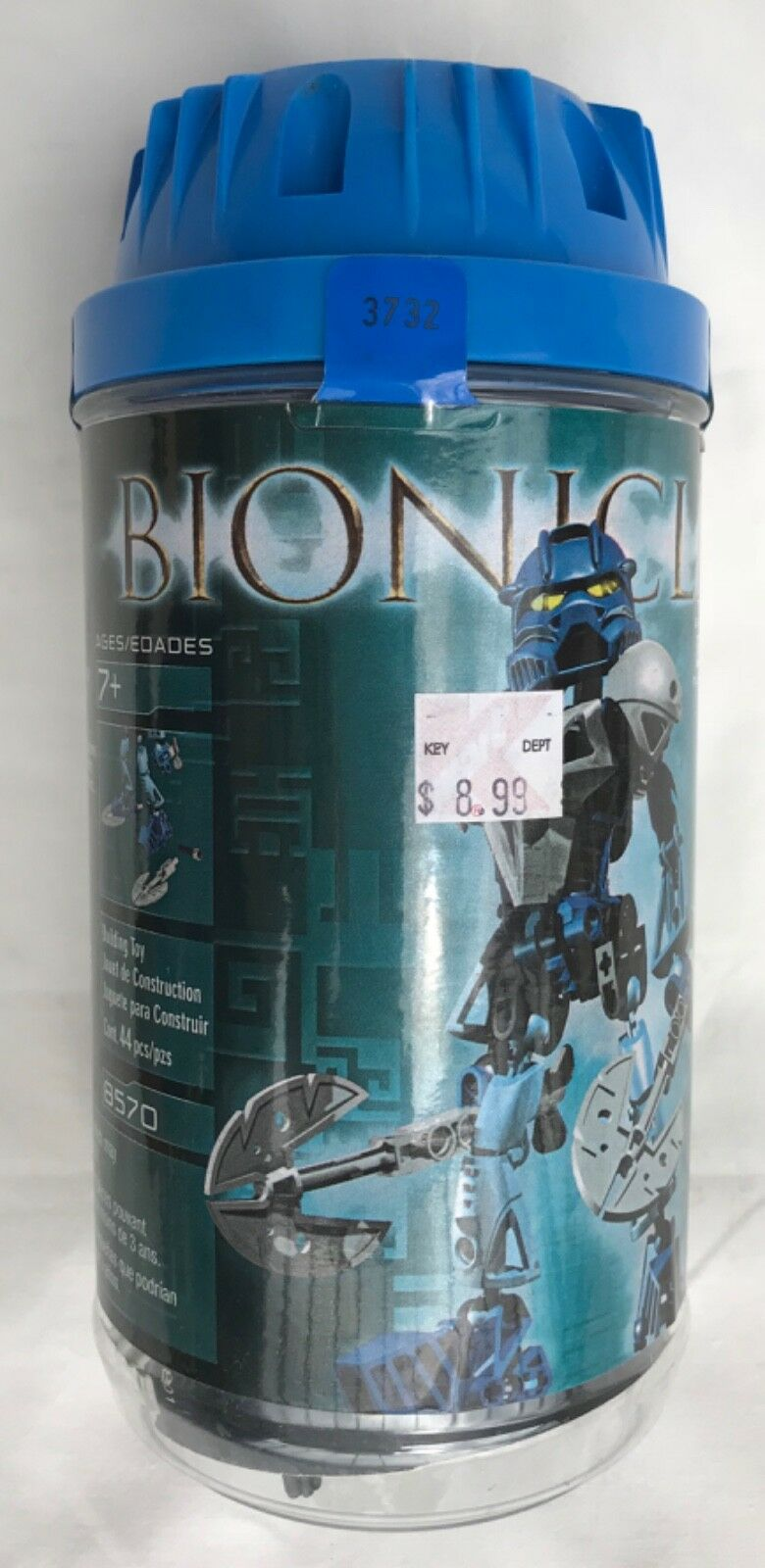 LEGO 8570 BIONICLE GALI NUVA RARE NEW SEALED PRE-OWNED RETIROT 2002