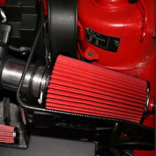 3car Long Ram Cold Air Intake Filter Cone Air Filter Red Reusable For Car Great Fits More Than One Vehicle