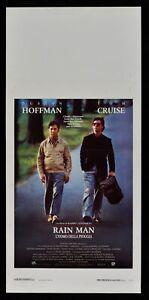 Plakat Rain Man 1988 Tom Cruise Dustin Hoffman Barry Levinson Morrow L82