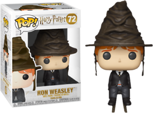 Harry-Potter-Ron-Weasley-with-Sorting-Hat-Funko-Pop-Vinyl-New-in-Mint-Box
