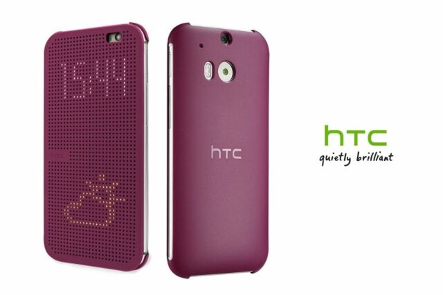 HTC Dot View Smart Case Flip  For HTC ONE 2 M8 Slim Cover Skin