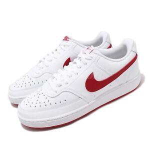 Detalles acerca de Nike Court Vision lo Blanco Rojo Universitario Clásico  De Hombre Zapatos Casuales CD5463-102- mostrar título original